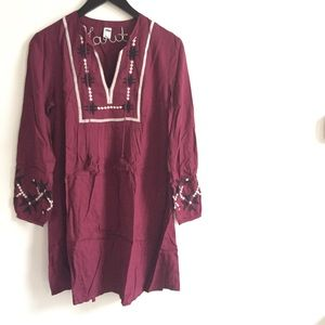 🛍Old Navy Embroidered Swing Dress